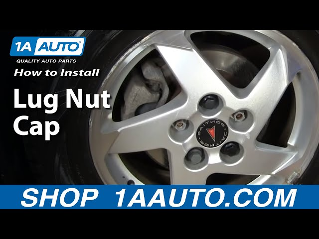 Lug Nut Cover For 1995-1998 Chevrolet Lumina; Wheel Nut Cover Covers Nuts Wheel