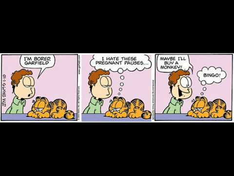 For Youtube And Me Garfield Comics Birthday Today