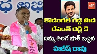 Minister Harish Rao Full Speech at TRS Public Meeting in Kodangal | Revanth Reddy | YOYO TV News