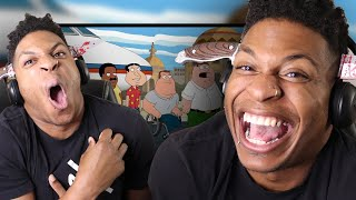 FAMILY GUY IS WORLDWIDE!! Family Guy - Roasting Every Place in the World  REACTION!!