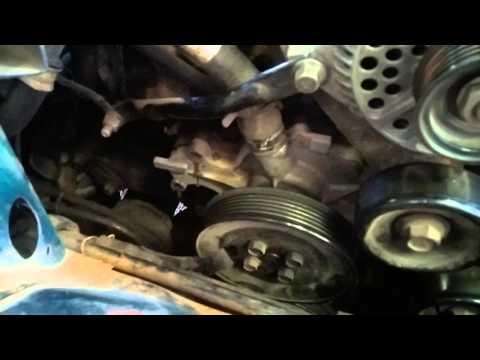 Video 1 4 Bomba De Agua Ford Taurus 3 0 V6 1994 Youtube