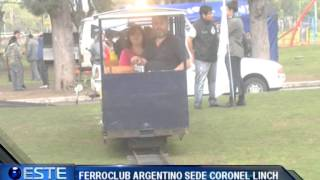 NOTA 5TO ENCUENTRO FERROCARRILES ARGENTINOS   FERROCLUB SEDE CNEL LINCH