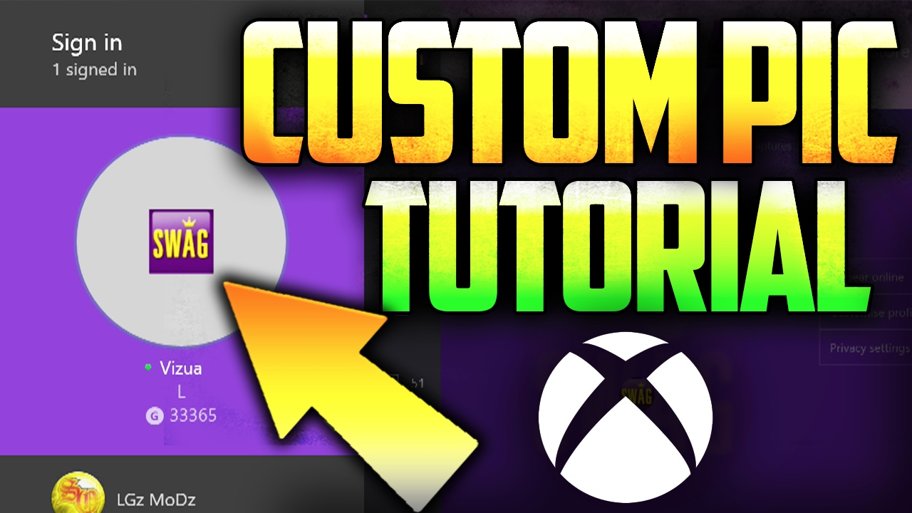 xbox one how to get custom gamer pictures themes tutorial