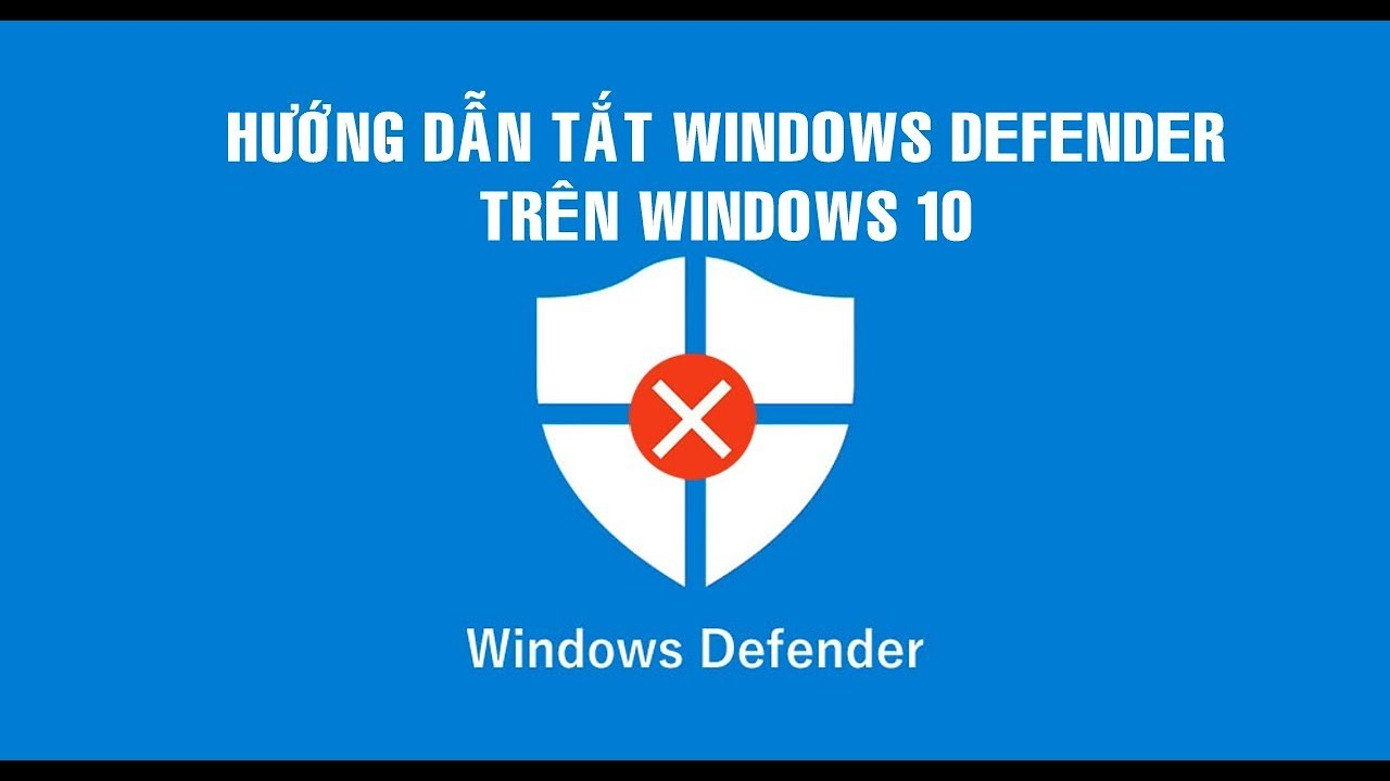 Bỏ túi kinh nghiệm tắt windows defender security center hiệu quả nhất