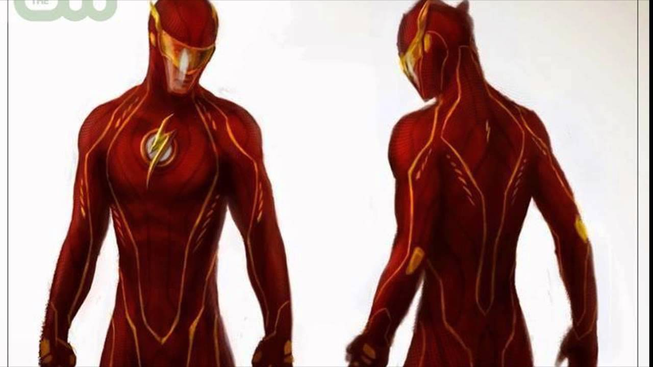 & Thoughts On Flash Costume Concept Art - YouTube