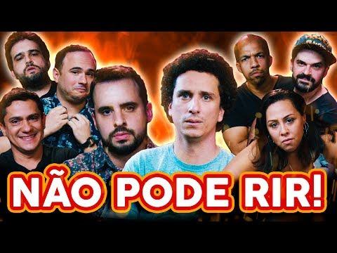 NÃO PODE RIR! com PORTA DOS FUNDOS (Rafael Portugal, Evelyn Castro, Gustavo Chagas e Magalzão)
