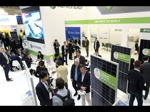 The world's leading exhibition for the solar industry and