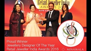 MINAWALA: Proud Winner of Jewellery Designer of the Year!