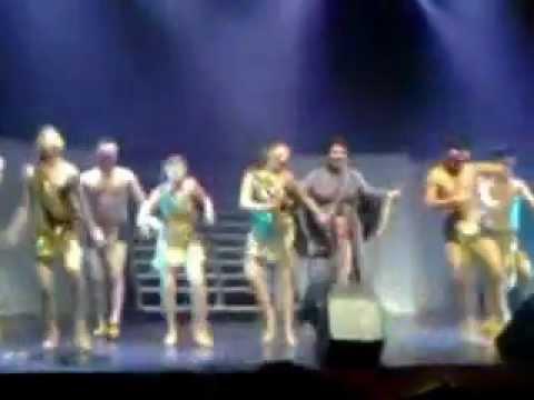 Cancion del Rey Herodes - Jesucristo Superstar 2012 Santiago Chile