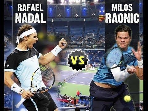 Nadal Raonic Live