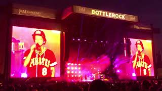 Bruno Mars Versace on the floor Bottlerock Napa