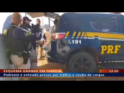DF ALERTA - Padrasto e enteado presos por tráfico e roubo de cargas