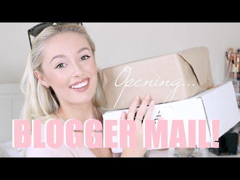 Blogger Mail Unboxing!  P.O. Box Haul   |   Fashion Mumblr
