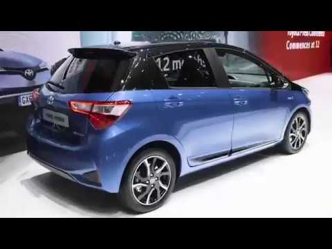 toyota yaris hybrid 2018 teaser youtube. Black Bedroom Furniture Sets. Home Design Ideas