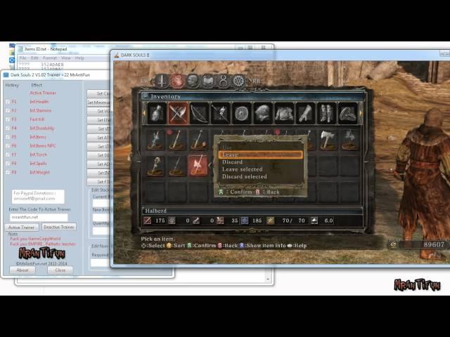 dark souls prepare to die edition trainer v1.0.2.0