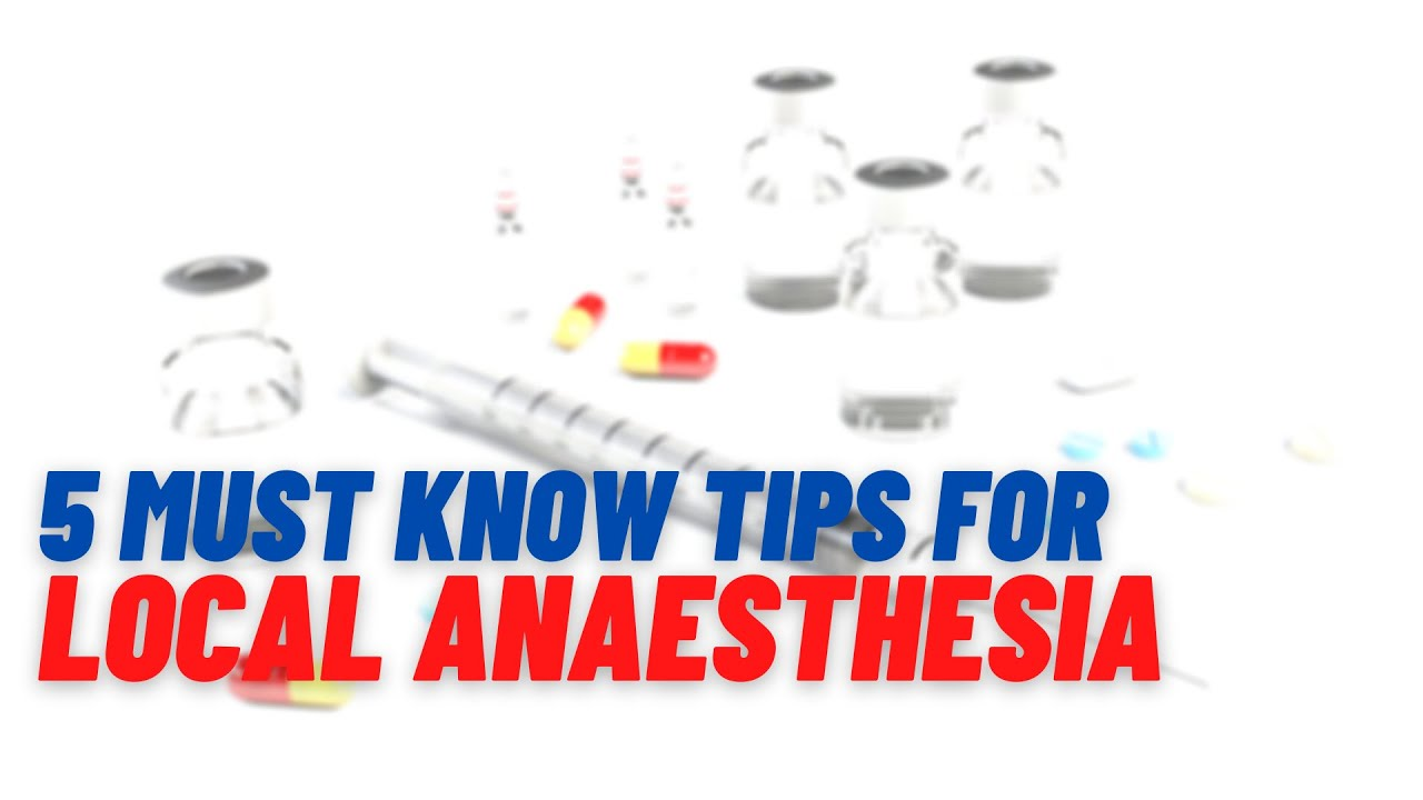 Download 5 Local Anaesthesia safe practice tips you MUST KNOW!