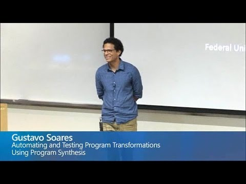Automating and Testing Program Transformations using Program Synthesis