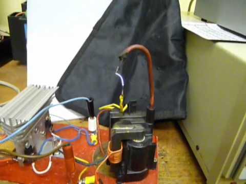 Singing Arc, Plasma Speaker from Flyback transformer