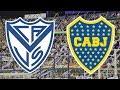VÉLEZ SARSFIELD VS BOCA JUNIORS EN VIVO | SUPERLIGA ARGENTINA 2019 - 2020 FECHA 13
