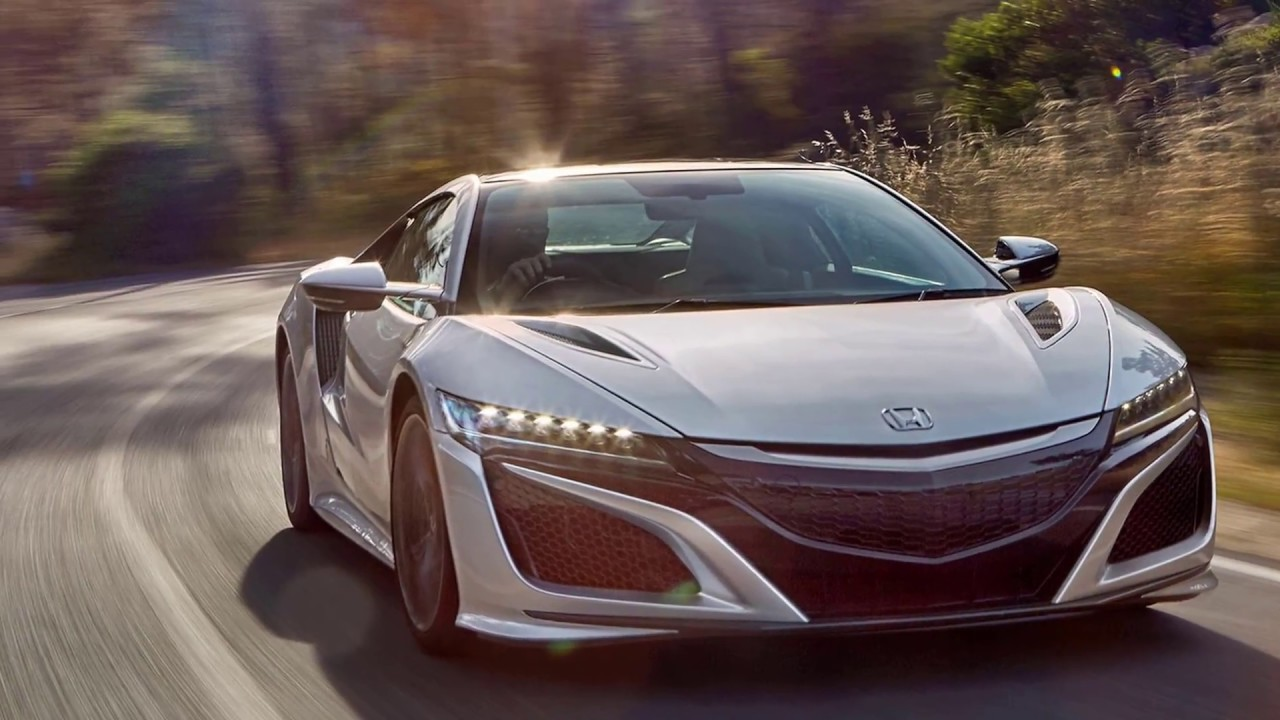 HONDA NSX 2017 Hybrid Supercar Top 10 Best Sports Cars In The World
