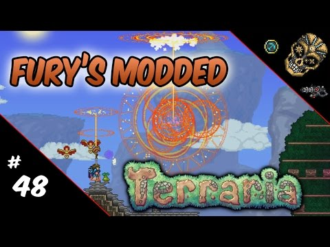 Fury's Modded Terraria | 48: Beats. Builds. MASSIVE Explosions! (Fixed)
