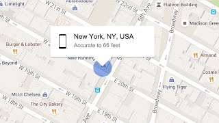 Find your phone with a Google search
