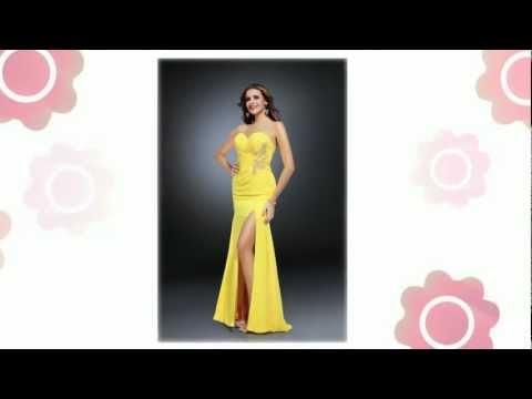 yellow-prom-dress