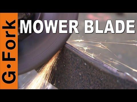 How To Sharpen Lawn Mower Blades Best Way - GardenFork