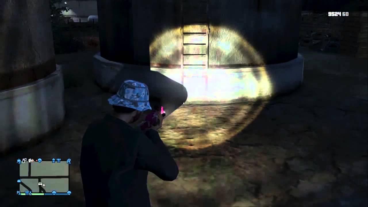 Gta V Ps4 Online Ghost Free Roam Hidden Easter Egg: The Deadpool Mod