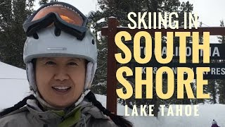 Skiing In South Shore Lake Tahoe