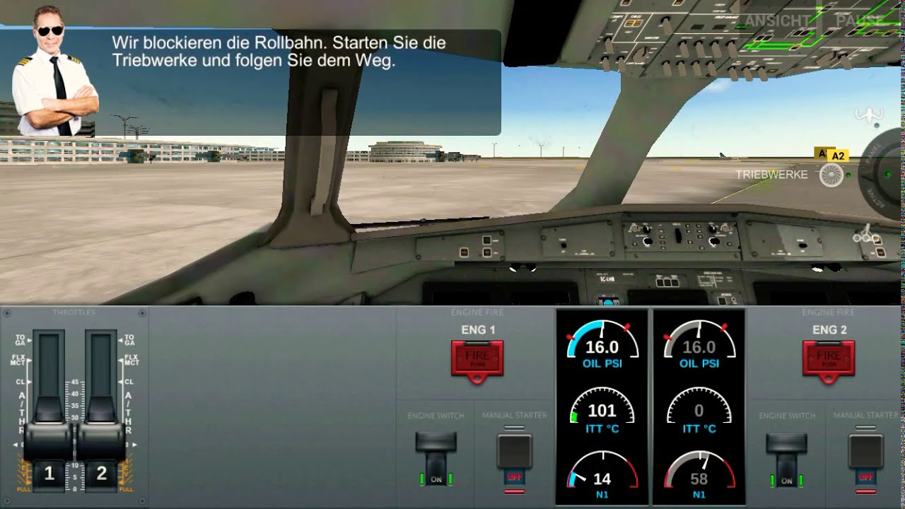 Flugzeug Simulation
