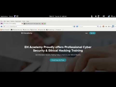 EH Academy: Cyber Security Training - FREE Enrollment