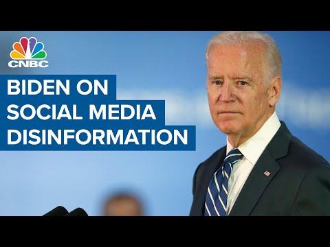President Joe Biden on social media vaccine disinformation: They're killing people