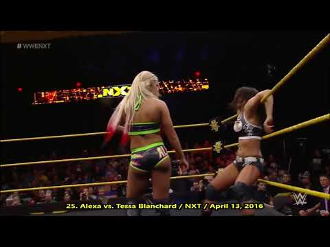 Alexa Bliss - All Twisted Bliss, DDT,  Forearm & Insult To Injury - 2020 Moves