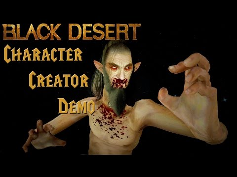 Faolan's First Impressions: Black Desert Character Creator Demo