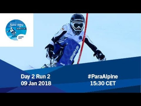 2018 World Para Alpine Skiing World Cup | Zagreb-Sljeme | Day 2 Run 2
