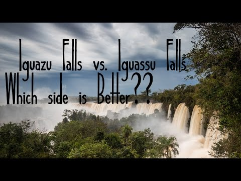 Argentina vs. Brazil: Which Side of Iguazu Falls is Better?