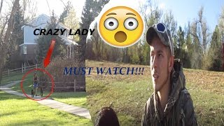 Crazy Lady Attacks Us At The Lake! MUST WATCH