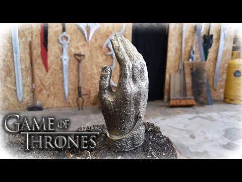 Casting JAIME LANNISTER´s Golden Hand (Game Of Thrones)
