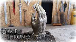 Casting JAIME LANNISTER´s Golden Hand (Game Of Thrones)