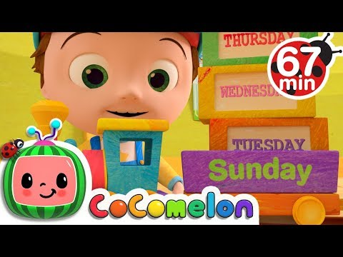 Days of the Week  + More Nursery Rhymes & Kids Songs  ABCkidTV