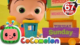 Days of the Week + More Nursery Rhymes & Kids Songs - CoComelon