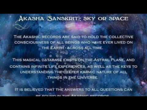 My Akashic Records/Past Lives Session with Bonita Woods 5.6.17