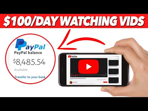 Get Paid $800 Per Day To Watch YouTube Videos (2021) | Earn FREE PayPal Money Watching Videos