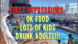 Boarding the Ship - Disney Dream Cruise