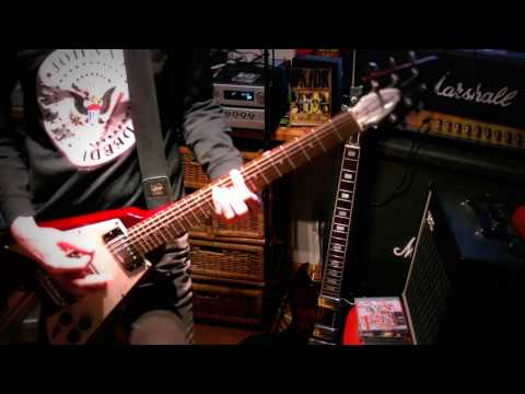 THE EXPLOITED-U.S.A (GUITAR COVER)