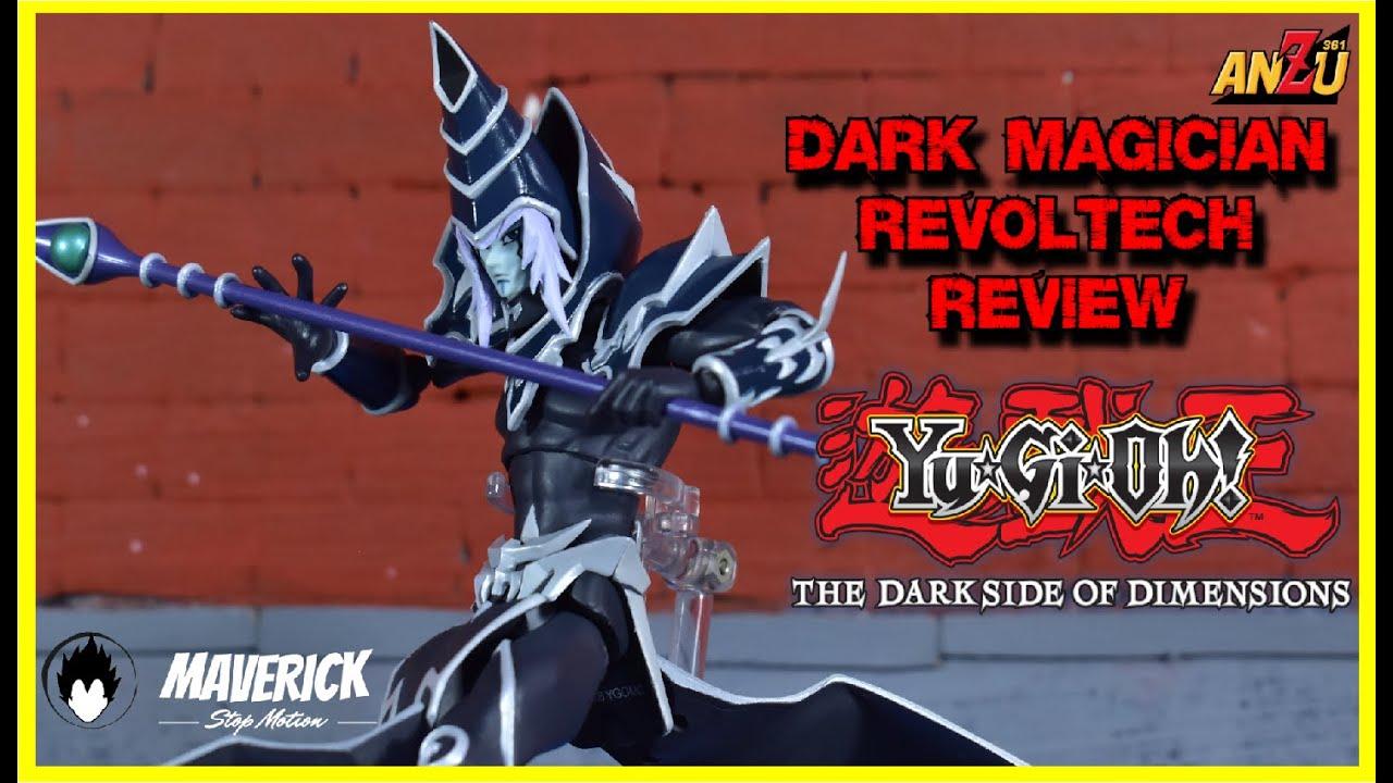 DARK MAGICIAN   DARK SIDE OF DIMENSIONS   Yu-Gi-Oh REVO  VULCANLOG REVOLTECH   UNBOXING   EN ESPAÑOL