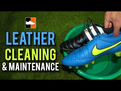 How To Clean Leather Football Boots - Leather Cleaning And Maintenance