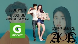 SEOLHYUN (AOA) & HEECHUL (SUPER JUNIOR) - GMARKET CF V°1.2 [Line Distribution]