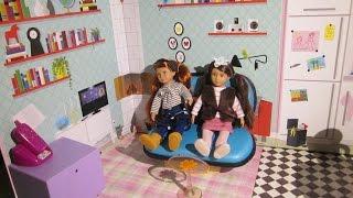 Backdrop For Ag / Og Mini Dolls From Ikea
